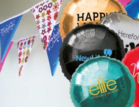 Flags, Balloons & Bunting