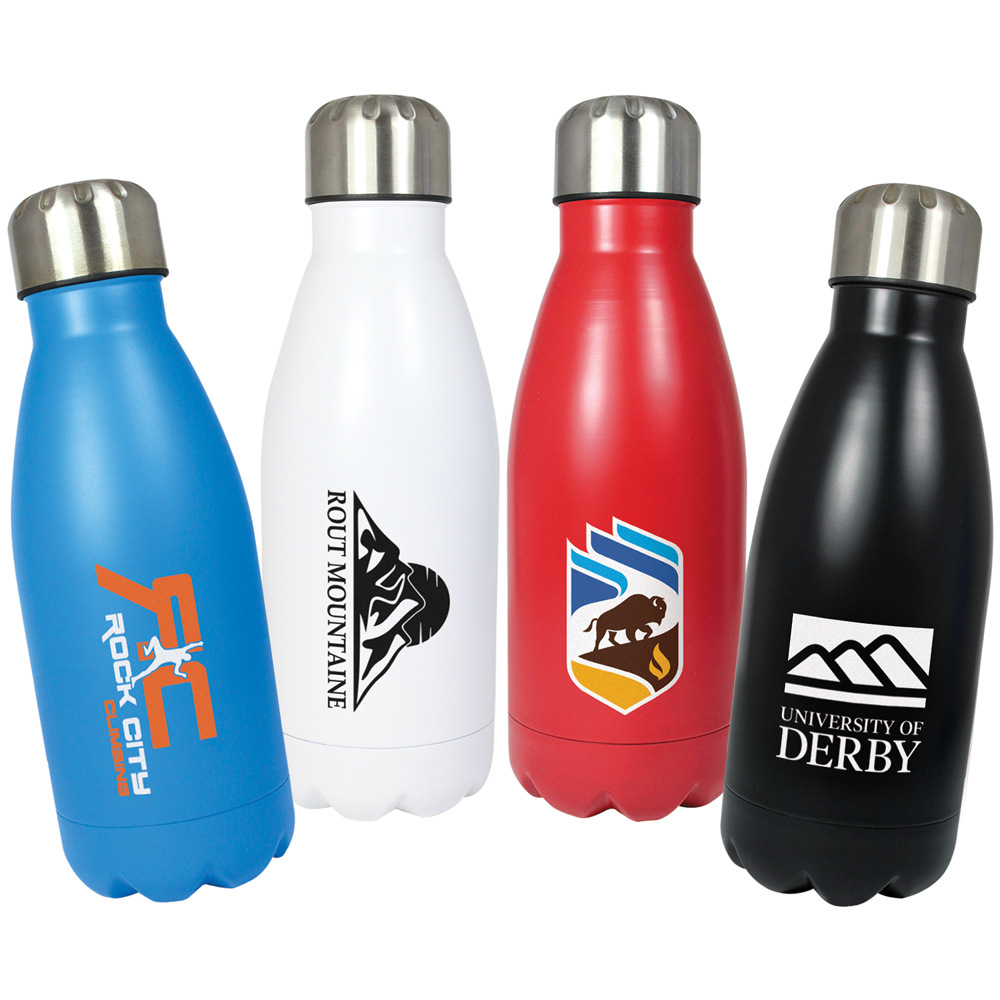 Refresh Single Wall Stainless Steel Bottle (500ml)