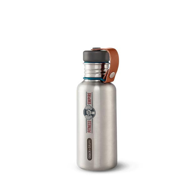 Steel Water Bottle - Black + Blum
