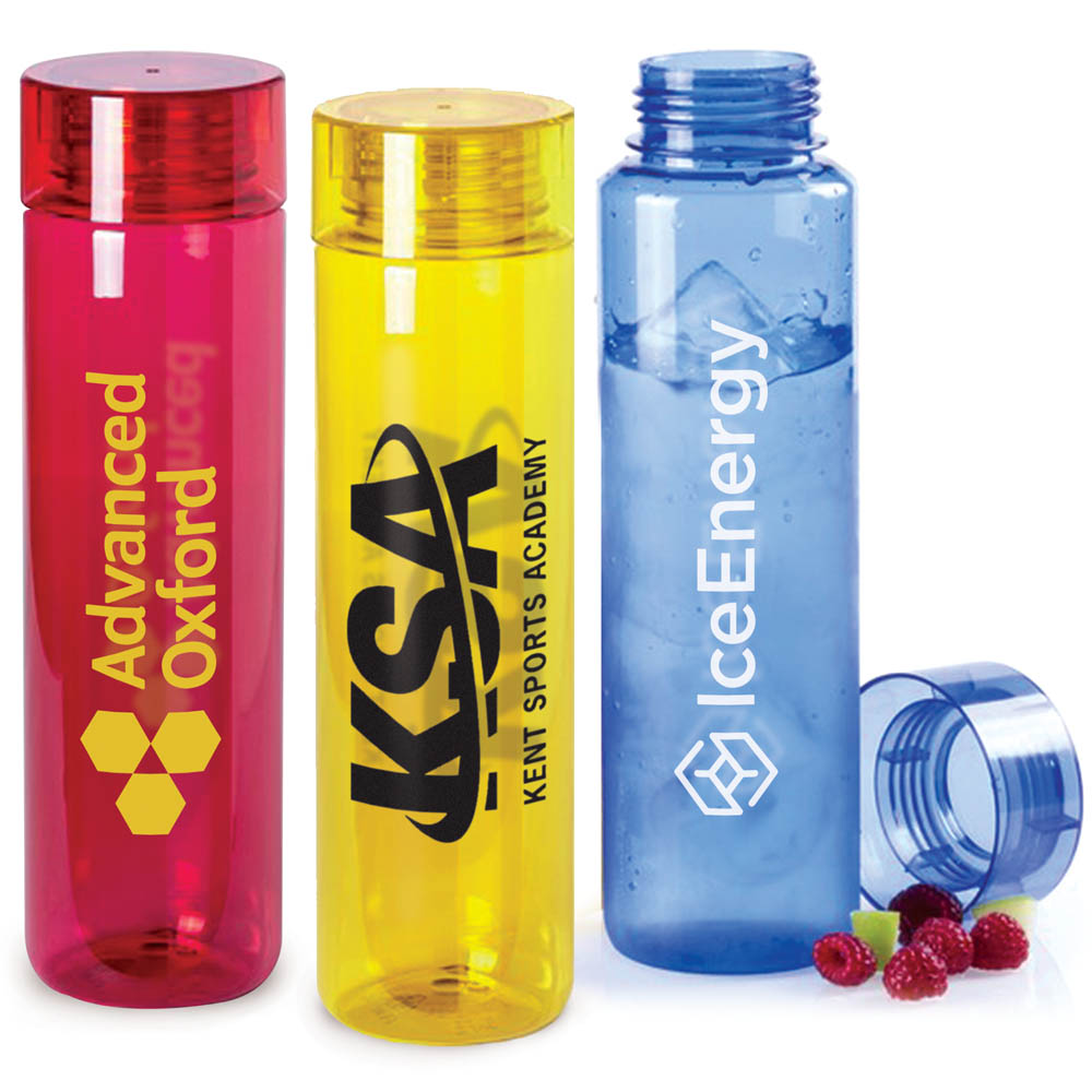 Tall Transparent BPA - Free Plastic Water Bottles (780ml) Lobrok