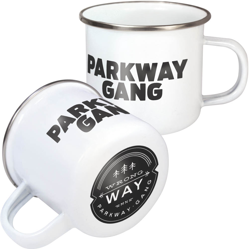 Premium Steel Rim Enamel Mugs 10oz/285ml